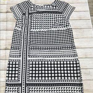 Merona Black and White Dress Size Large